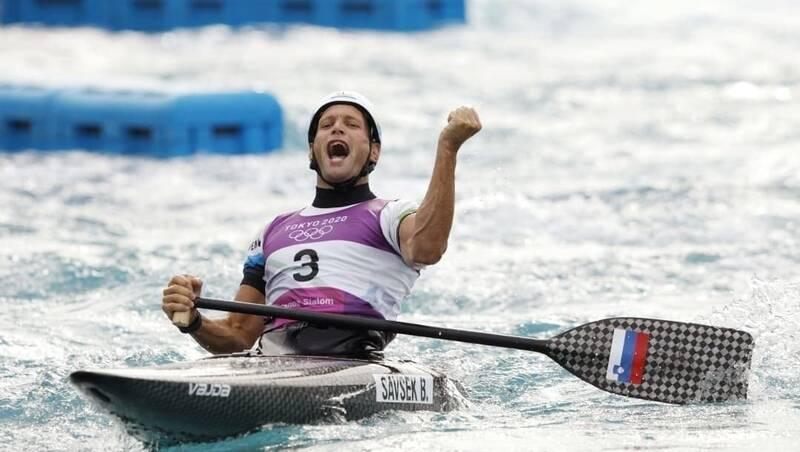 نماینده اسلواکی قهرمان قایقرانی المپیک شد