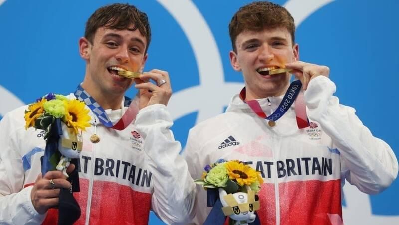 انگلیس قهرمان شیرجه ۱۰ متر المپیک شد