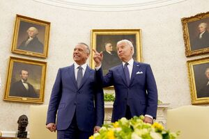 عکس/ دیدار نخست وزیر عراق با بایدن