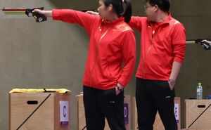 چین قهرمان تپانچه میکس المپیک شد