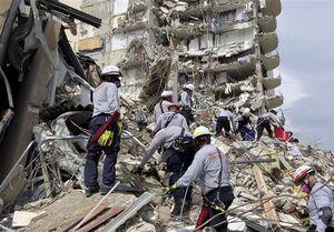 فیلم/ فروریختن مرگبار ساختمان در حال ساخت