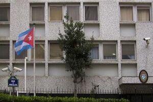سفارت کوبا در فرانسه هدف حمله کوکتل مولوتوف قرار گرفت