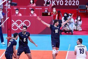تیم ملی والیبال ایران توانایی صعود به فینال المپیک را دارد