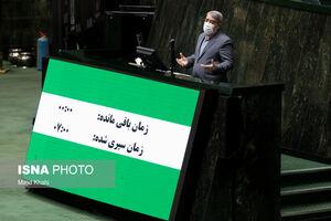 عکس/ طرح سوال از وزیر کشور در جلسه علنی مجلس