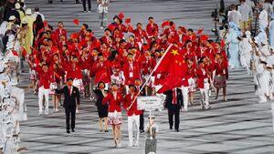 حفظ رکورد تاریخی چین درالمپیک