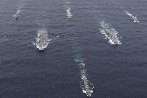 ناو انگلیس بدون توجه به هشدار چین وارد دریای چین جنوبی شد - کراپشده