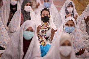 عکس/ مراسم ازدواج دانشجویی