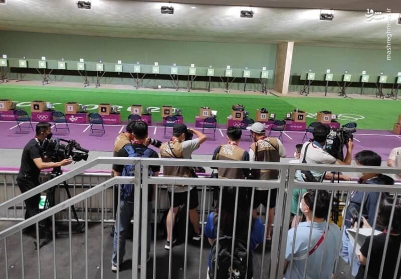 فروغی سوژه عکاسان خارجی در المپیک +عکس