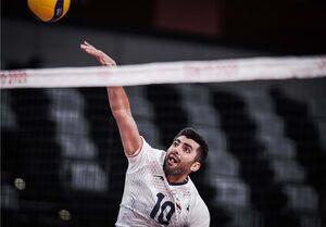 المپیک ۲۰۲۰ توکیو| غفور؛ امتیازآورترین بازیکن ایران مقابل کانادا