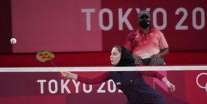 دختر بدمینتون باز ایران از صعود بازماند