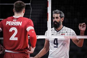 صعود والیبال ایران از مرحله گروهی المپیک به خطر افتاد