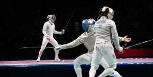 المپیک توکیو| پایان تلخ شمشیربازی ایران در ژاپن/ شاگردان فخری ششم شدند