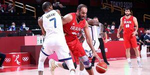 المپیک توکیو|حدادی امتیاز آورترین بازیکن ایران مقابل آمریکا