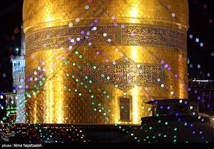 عکس/ حرم رضوی در آستانه عید سعید غدیر