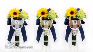 از دستهگلهای المپیک توکیو چه میدانید؟/نماد برخواستن ژاپن پس از سونامی