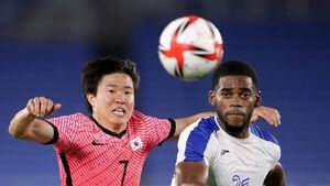 صعود کره جنوبی و نیوزیلند به مرحله حذفی فوتبال المپیک