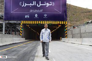 عکس/طولانیترین تونل خاورمیانه