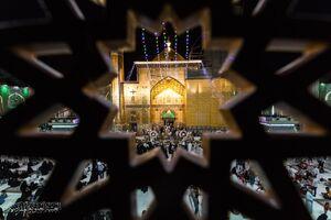 عکس/ جشن عید غدیر در حرم حضرت علی(ع)