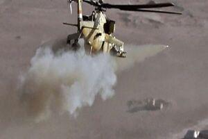 کشته شدن ۵ نفر در سقوط بالگرد عراقی در نزدیکی آمرلی