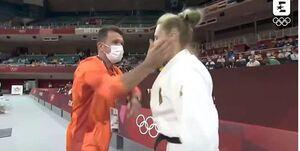 ماجرای سیلی جنجالی در المپیک +فیلم