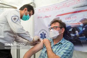 عکس/ آغاز واکسیناسیون خبرنگاران علیه کرونا