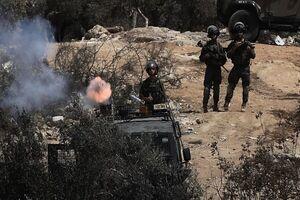 درگیری بین فلسطینیان و اسرائیلیها در شهرک«بیتا»