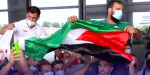 ورزشکار الجزایری: خوشحالم از اینکه اسرائیل را خشمگین کردم