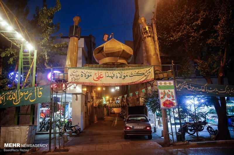 جشن عید غدیر در خیابان های تهران