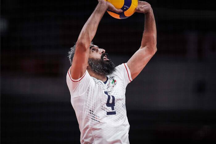 عبادیپور بهترین زننده سرویس و دریافتکننده والیبال المپیک