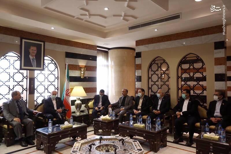 دیدار قالیباف با وزیر خارجه سوریه