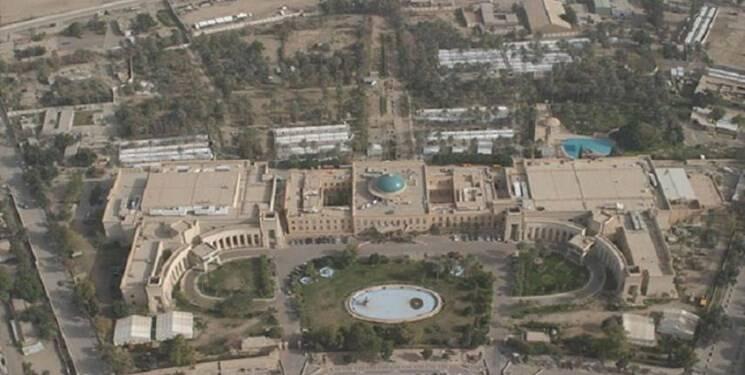 حمله راکتی به سفارت آمریکا در عراق