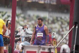 واکنش احسان حدادی به حذف زودهنگام از المپیک