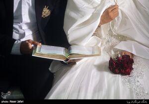 عکس/ جشن ازدواج ۲۱ زوج در عید غدیر