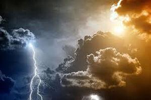 احتمال رگبار رعد و برق و تندباد موقتی در تهران پیش بینی شده است