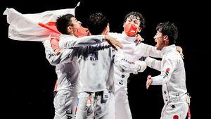 ژاپن فاتح شمشیربازی اپه المپیک شد