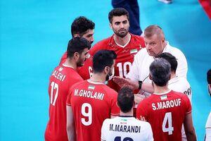 شکست تیم ملی والیبال ایران برابر ایتالیا