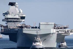 واکنش چین به تحریکات نیروی دریایی انگلیس - کراپشده