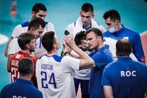 پیروزی حیاتی والیبال فرانسه مقابل روسیه