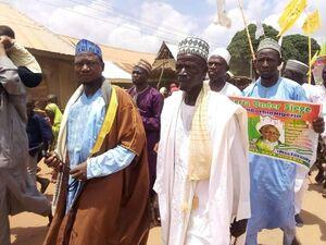 عکس/ خوشحالی مردم نیجریه از آزادی شیخ زاکزاکی