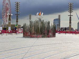 مشعل المپیک توکیو را کجا بردند؟ + تصاویر