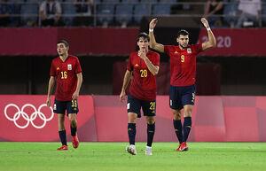 المپیک توکیو؛ صعود اسپانیا به نیمهنهایی با هتتریک بازیکن تعویضی