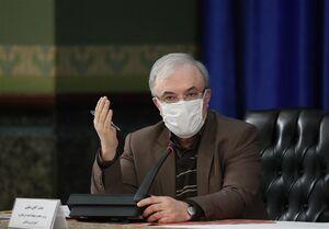 دستور وزیر بهداشت برای آغاز واکسیناسیون کرونای افراد ۵۵ تا ۵۸ ساله در تهران