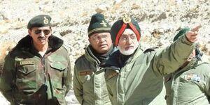 دیدار مقامهای ارشد نظامی چین و هند در «لاداخ » برای تنش زدایی