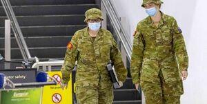 استقرار نیروهای ارتش و پرواز پهپادها در سیدنی برای اعمال قرنطینه