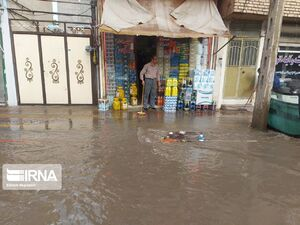 عکس/ سیلاب در خلخال