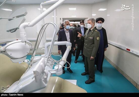 عکس/ افتتاح بزرگترین مرکز تخصصی دندانپزشکی کشور