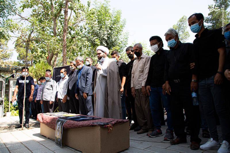 «آوینی افغانستان» در جوار شهدا آرام گرفت + عکس