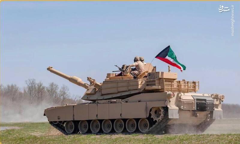 عکس/ تحویل تانک جدید به ارتش کویت