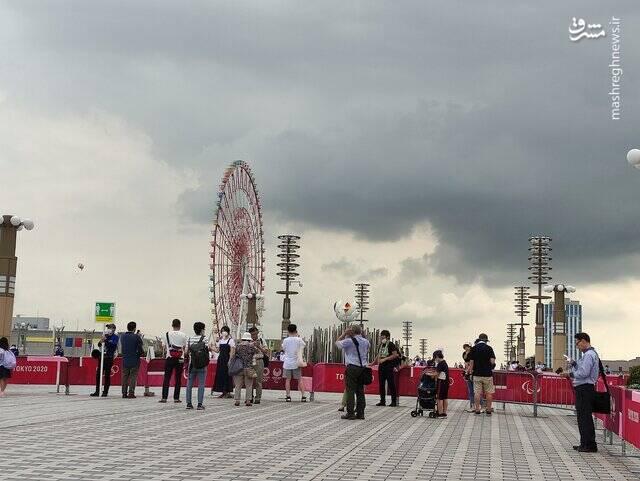 مشعل المپیک توکیو را کجا بردند؟ + عکس