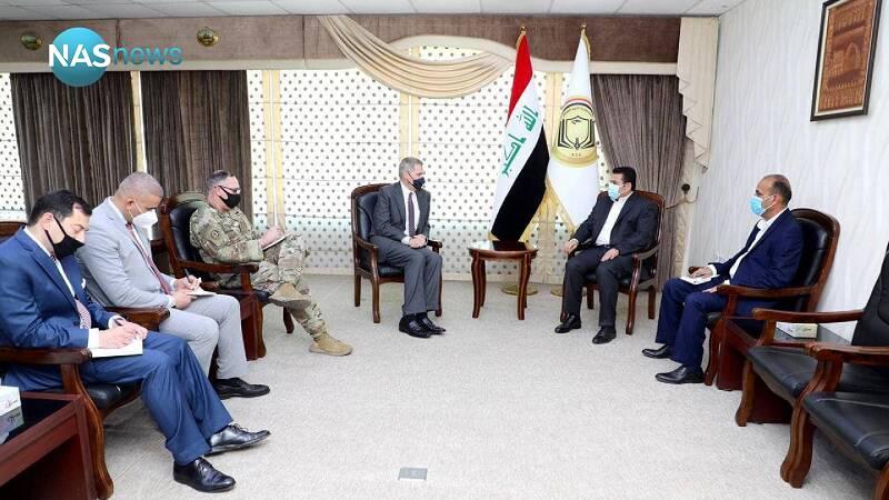 سفیر آمریکا در بغداد: تمایلی به تنش با ایران در عراق نداریم